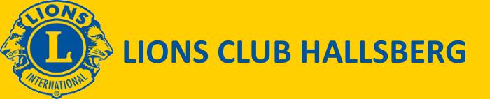Lions Club Hallsberg Logo
